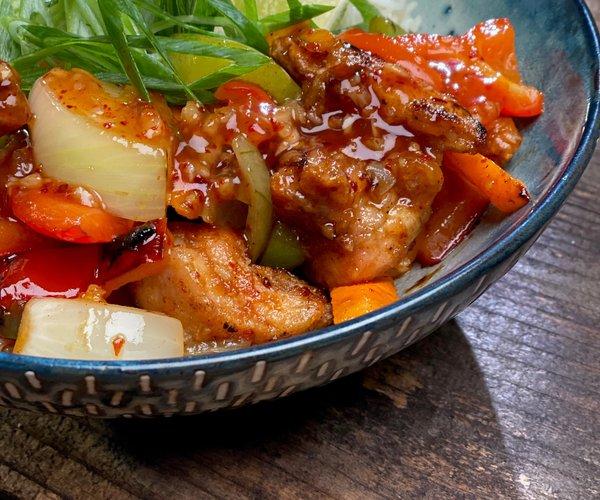 recette Loîc fou de cuisine beignets de poulets