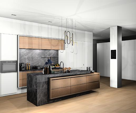 Jouw keuken in 3D