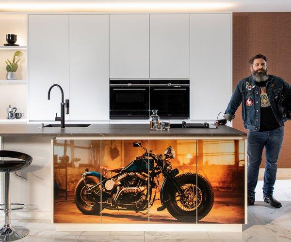 Nieuwe keukendeuren bij Dovy geprint met je favoriete foto