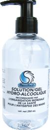 SOLUTION/GEL HYDRO ALCOOLIQUE