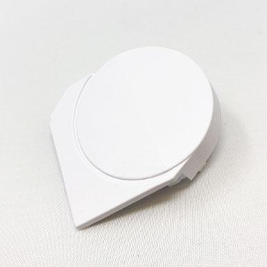 Endkappe Kette rund, 63 x 56 mm, rechts