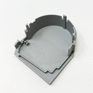 Endkappe rund, 63 x 56 mm, links
