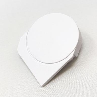 Endkappe rund, 63 x 56 mm, rechts