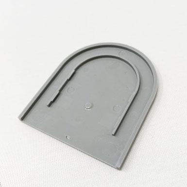 Endkappe flach, 55 x 36 mm