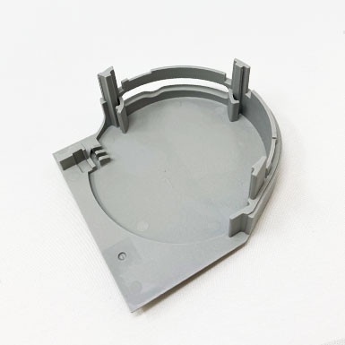 Endkappe Kette rund, 78 x 77 mm, links