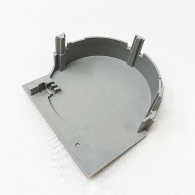 Endkappe rund, 78 x 77 mm, links