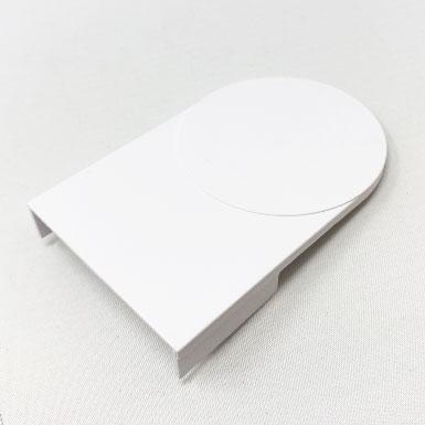 Endkappe flach, 55 x 60 mm