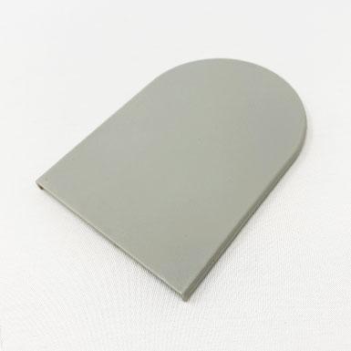 Endkappe flach, 59 x 51 mm