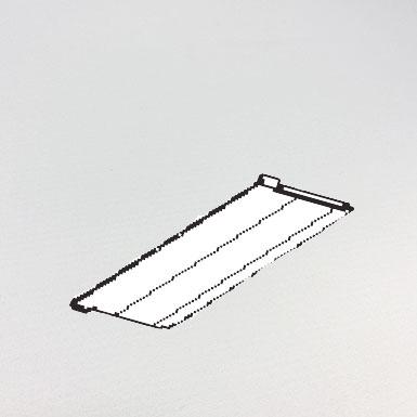 Beschwerungsplatte 89 mm ohne Verbindungskette