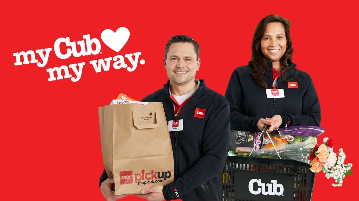 Cub Teammates shop and delivery every order