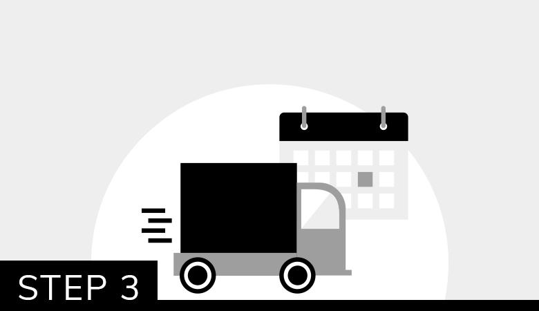 Step 3: Reserve Delivery Slot