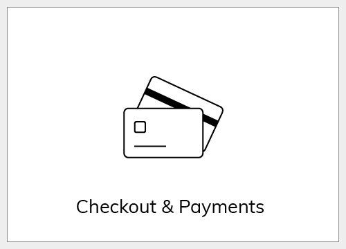 Checkout and payments