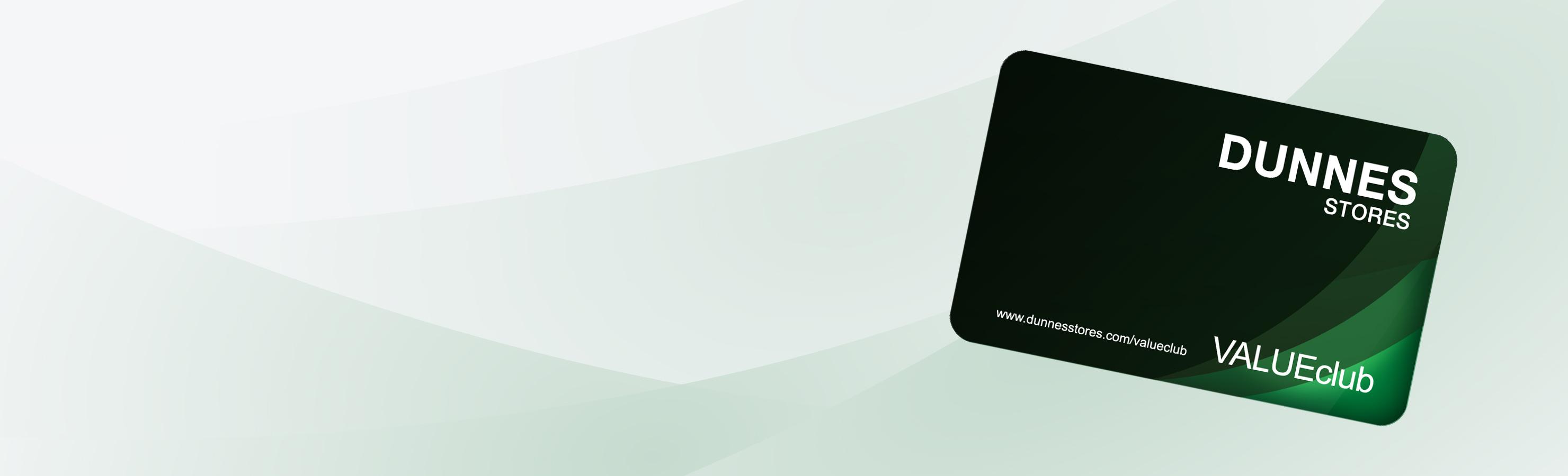 VALUEclub card and app