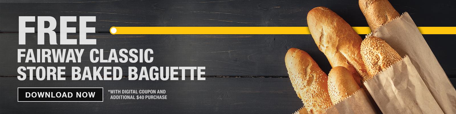 Baguette Coupon