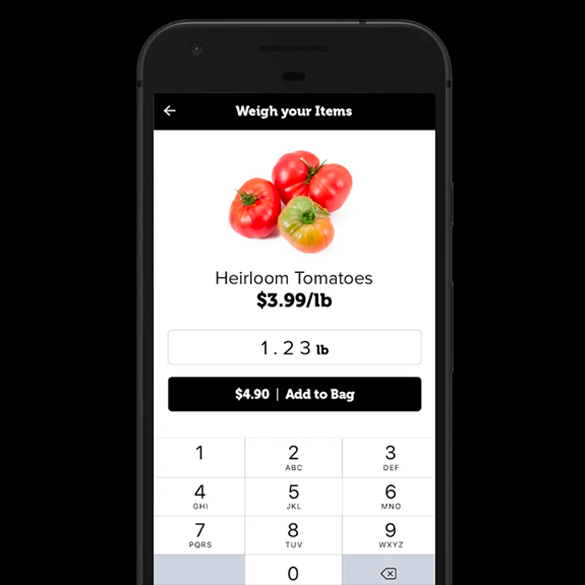 Weigh your produce