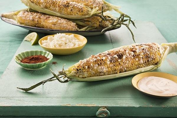 Hellmann's Mexican Style Corn (Elote)