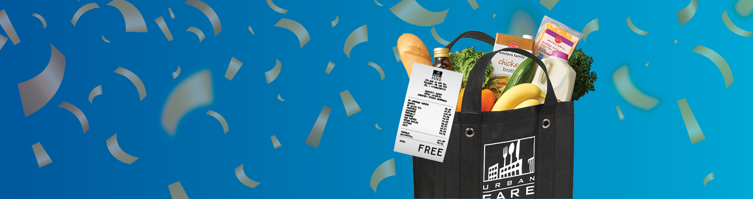 Redeem your points. Get FREE groceries. It's THAT easy.