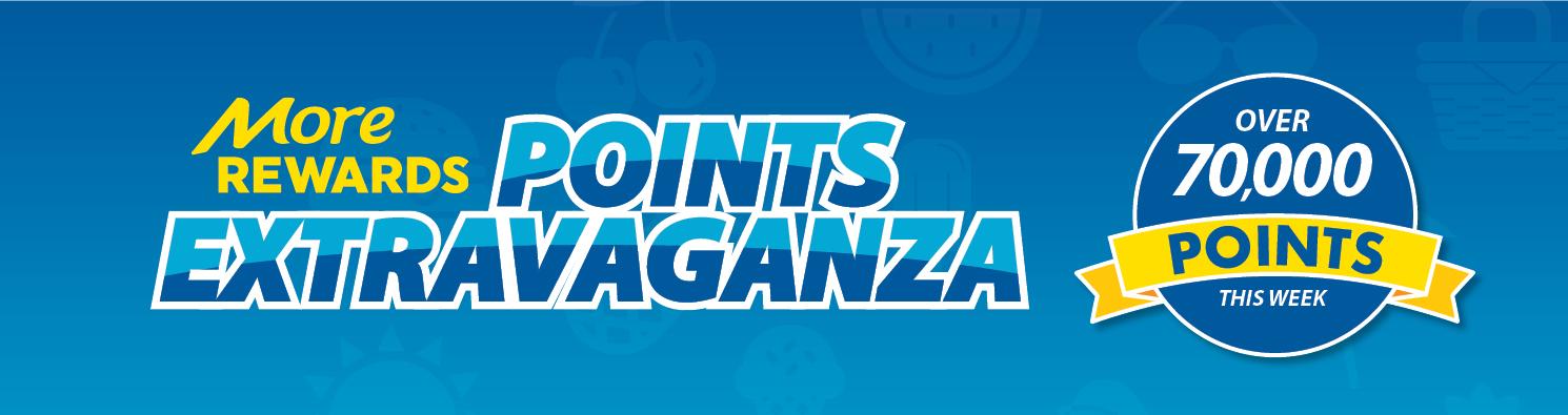 More Rewards Points Extravaganza