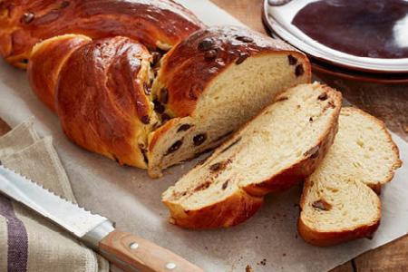 Braided Chocolate Bread