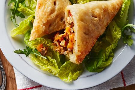 Smoked Chicken Salsa Empanadas Recipe