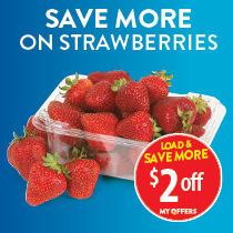 $2 off strawberries with My Offers