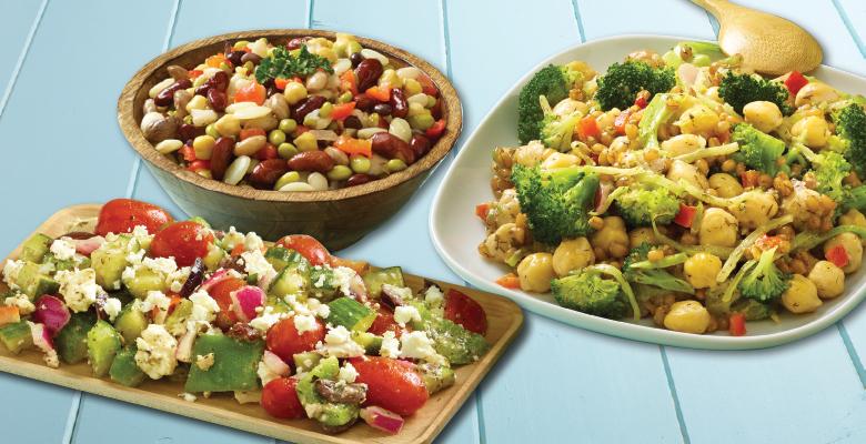 service case salads