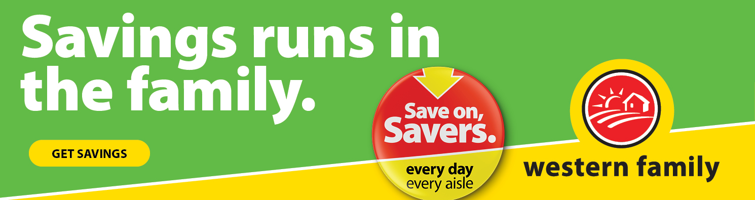 Savings runs in the family. Save On, Savers