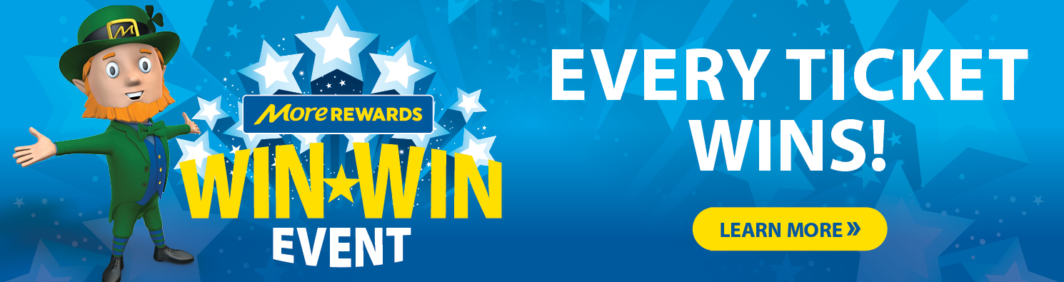 win win event, every ticket wins - Learn More