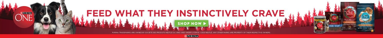 Purina One - Feed what they instinctively crave - shop now