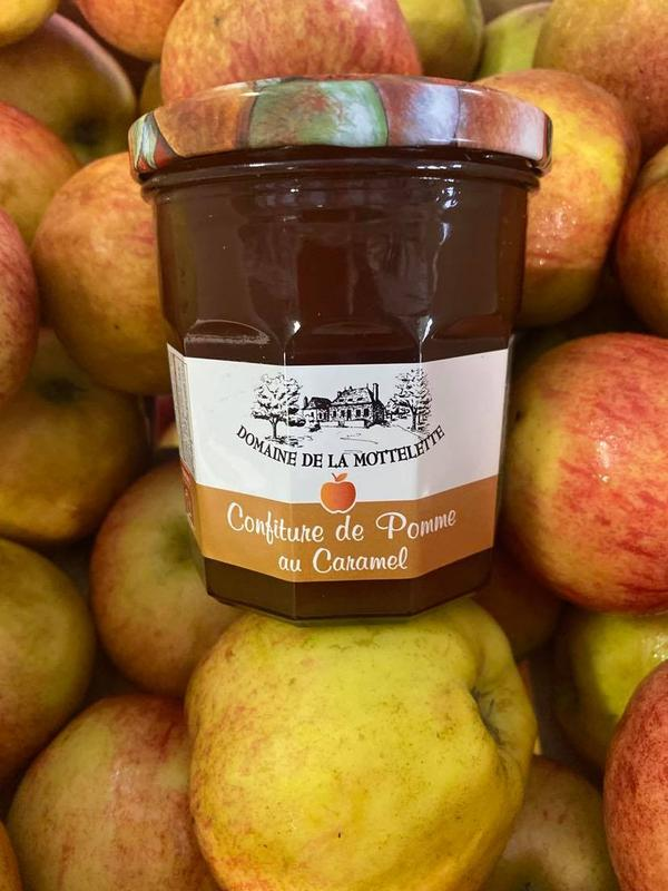 Confiture de Pomme au Caramel beurre salé Bio