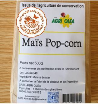 Maïs pop