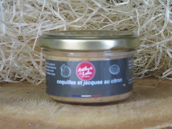 Terrine aux coquilles Saint Jacques