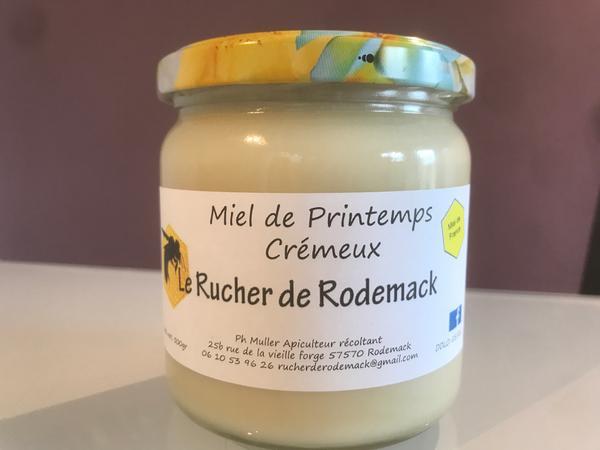 Miel de Printemps crémeux de Rodemack