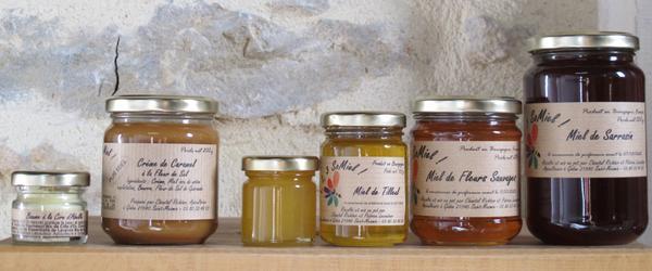 Miel et produit de la Ruche
