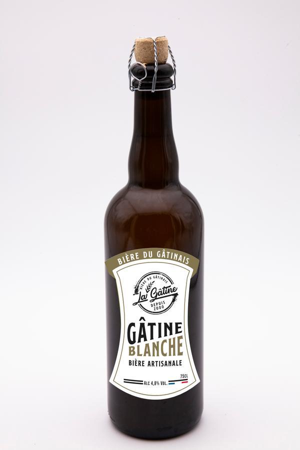 Bière La Gâtine Blanche 75 cl