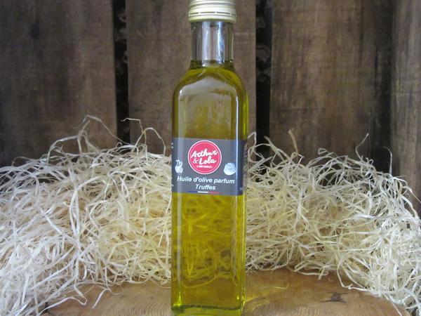 Huile d'Olive parfum truffes.