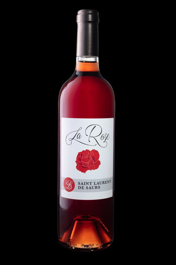 Vin rosé doux