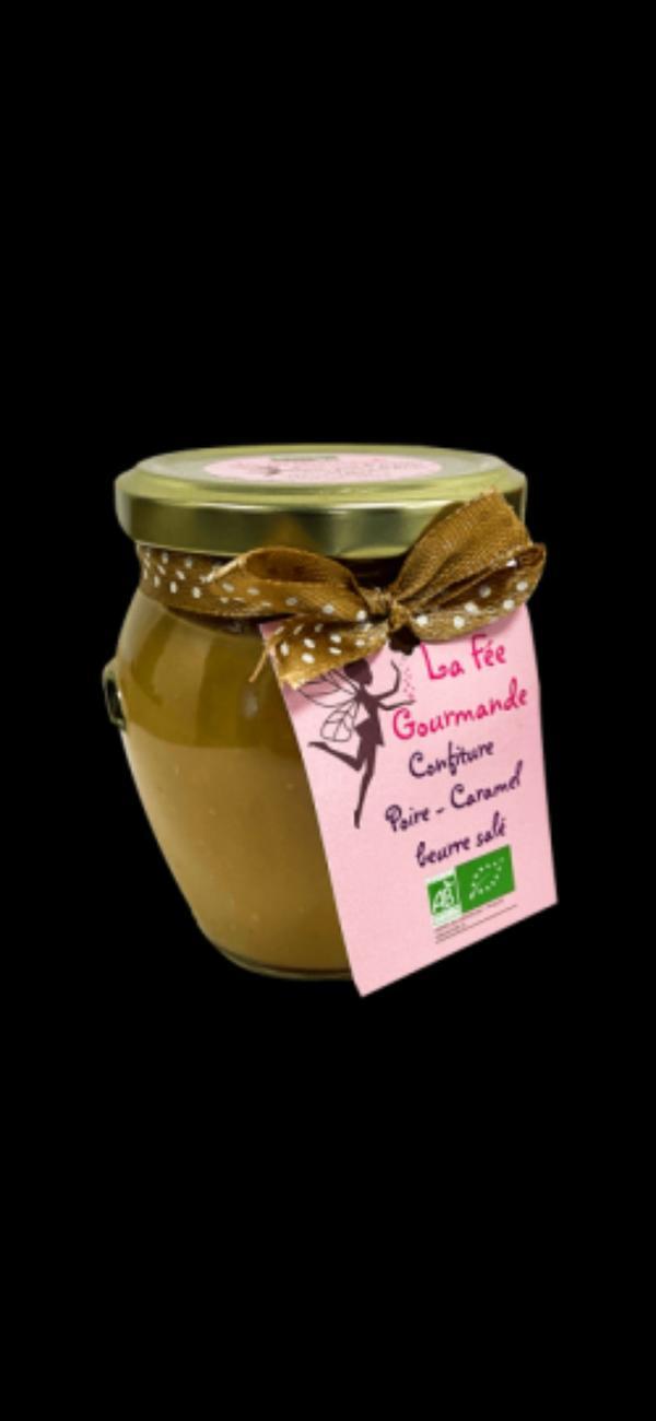 confiture Poire/Caramel beurre salé