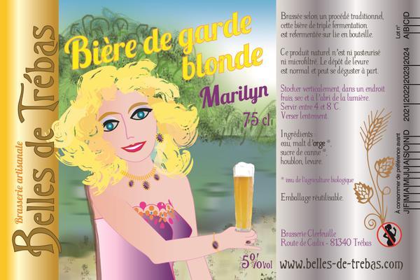 Marylin, bière de garde blonde
