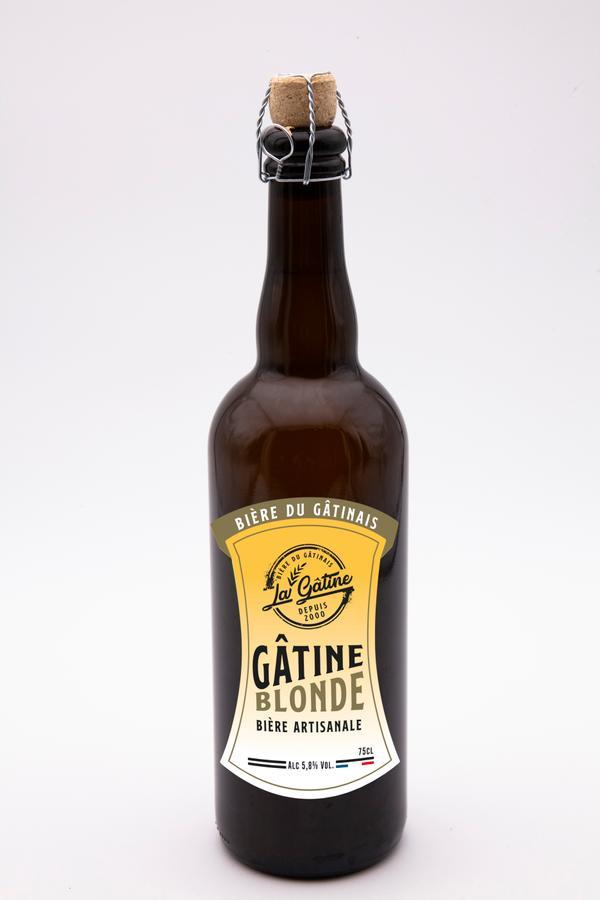 Bière La Gâtine Blonde 75 cl