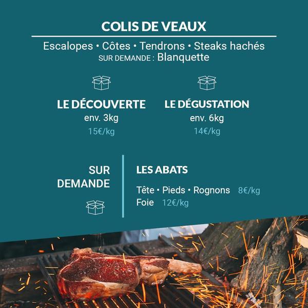 Colis de Veaux Rosé Gascons de Pyrénées