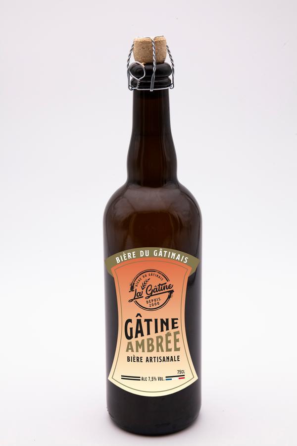Bière La Gâtine Ambrée 75 cl