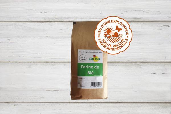 Farine de blé demi complète HVE