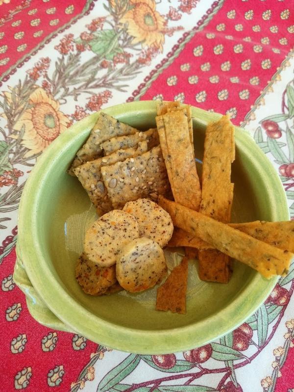 biscuits apéritif BIO, la boite