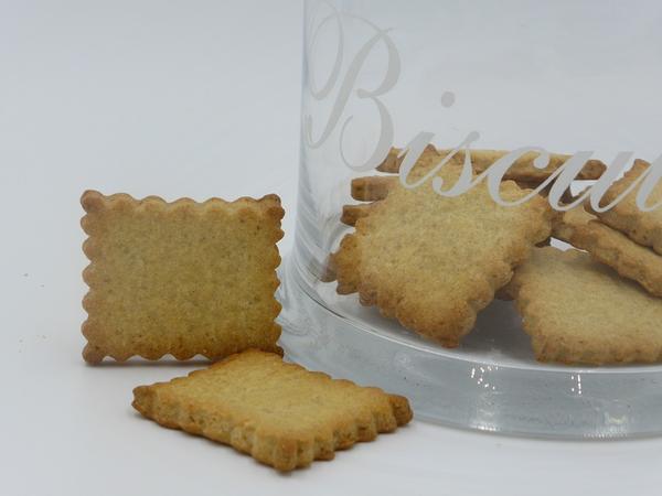 Biscuits sablés au citron - BIO