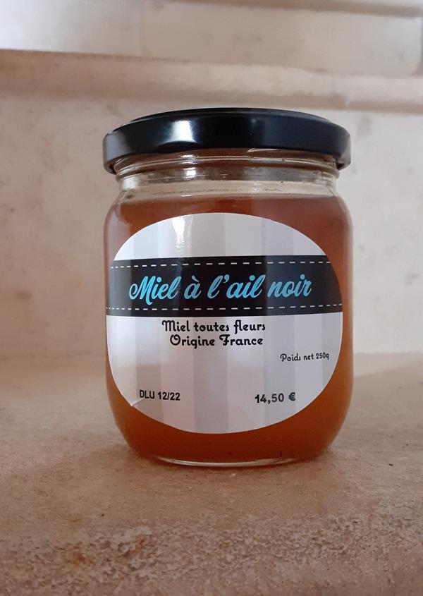 Miel à l'ail noir