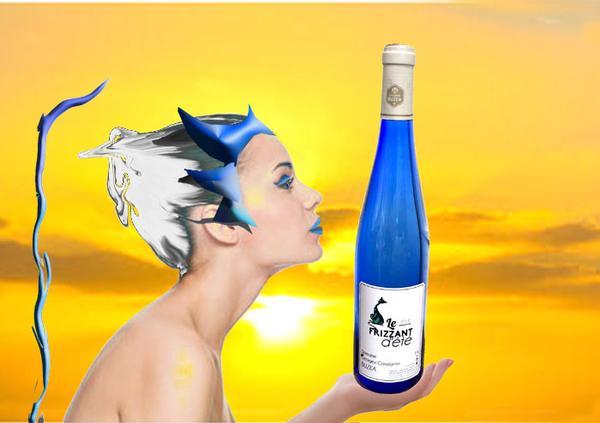 """Vin blanc de Moselle  - LE """"Frizzant d'été"""""""