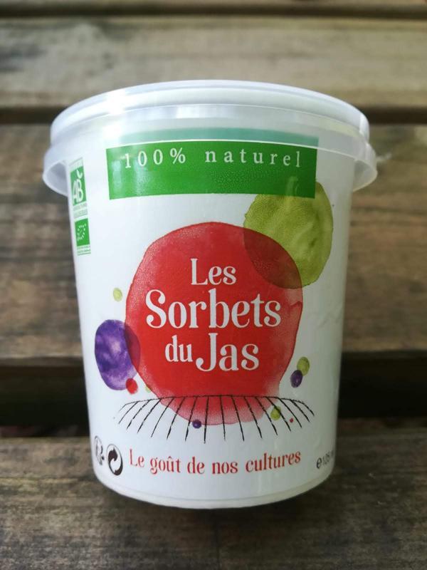 crème glacée jasmin de Grasse 500ml