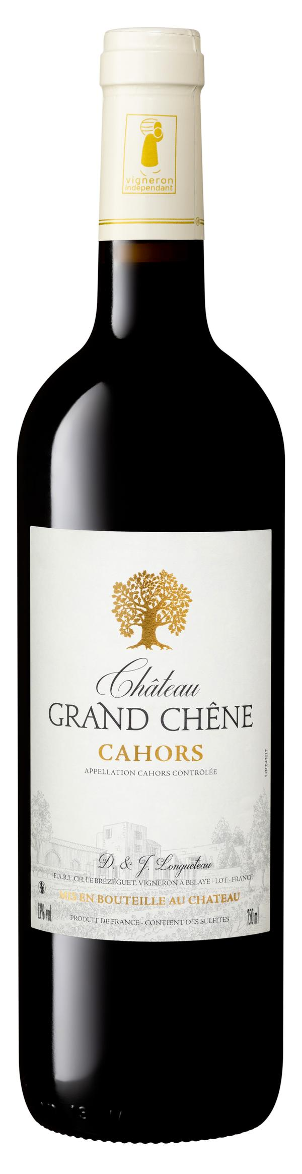 Château Grand Chêne 2018 vin rouge AOP Cahors 75 cl