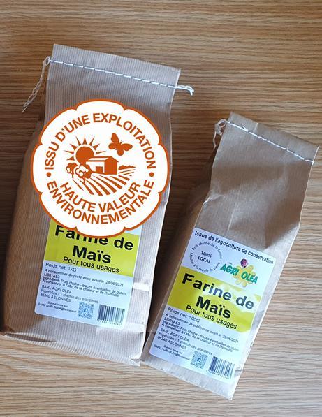 Farine de maïs HVE